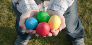 egg hunt in Columbus