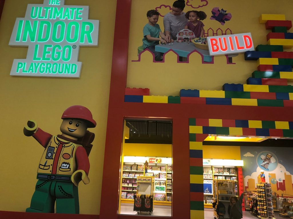 indoor play area at Easton