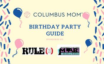 birthday party locations