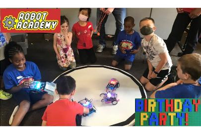 robot Lego party