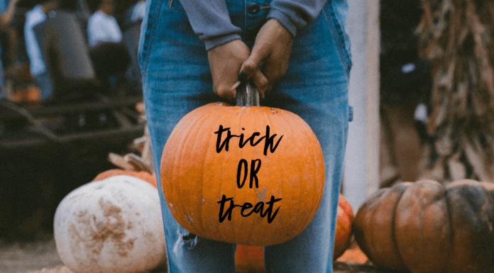 teenage trick-or-treating